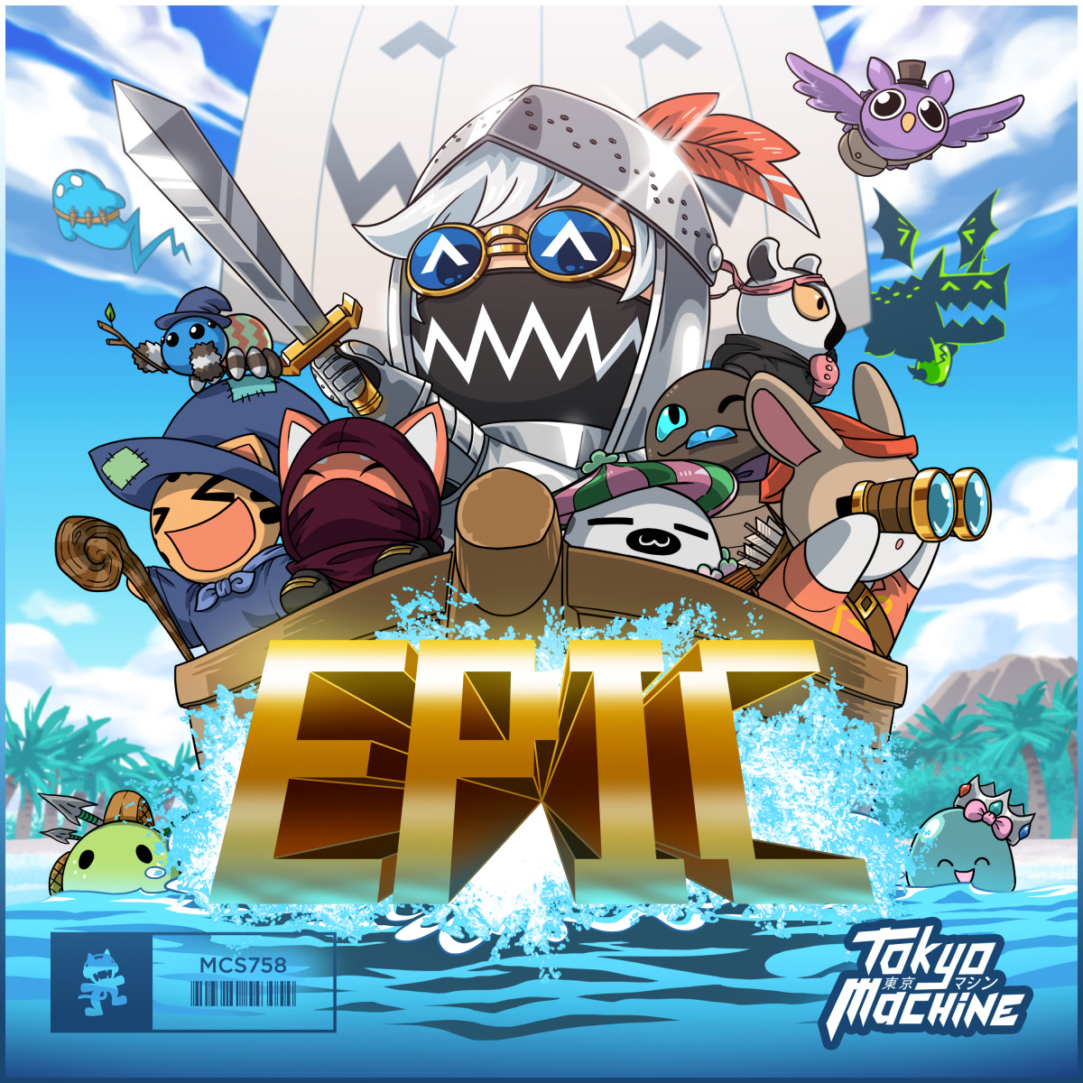 Art for EPIC by Tokyo Machine