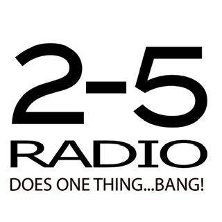 2-5 Radio logo