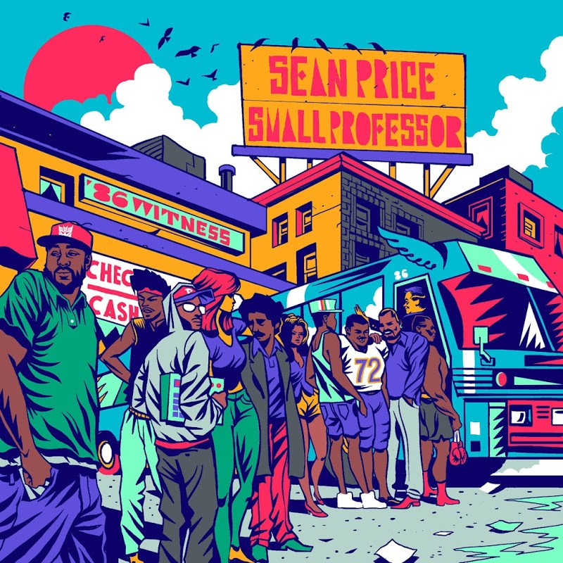Art for Think About It feat. Rock, Illa Ghee & DJ Revolution by Sean Price & Small Professor