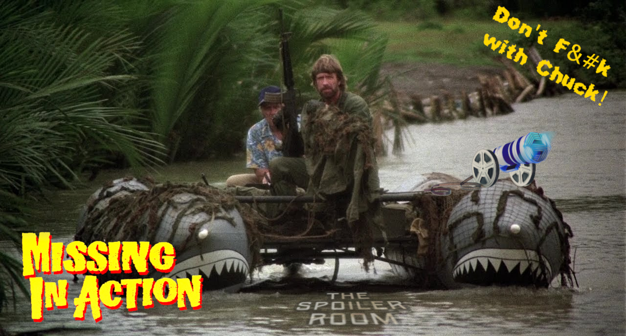 """Art for Missing In Action (1984) - """"Cannon Fodder"""" - """"Don't F@#K With Chuck"""" by Special Mark Productions"""