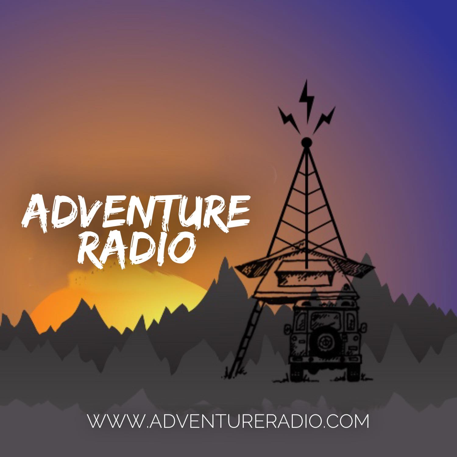 Art for 4x4 podcast 1 by Adventure Radio