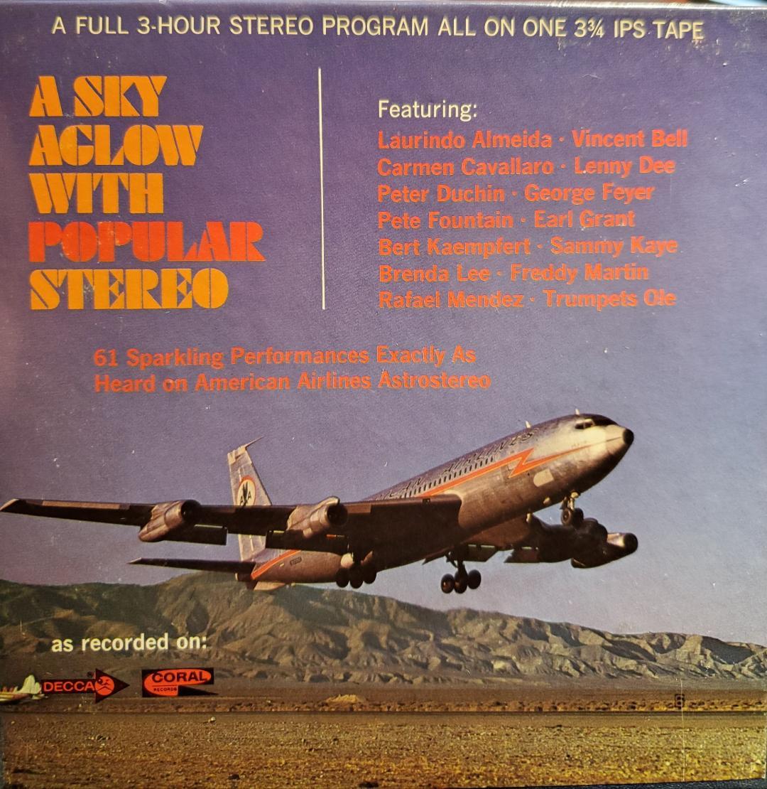 Art for Yellow Days by Carmen Cavallaro (Piano) // American Airlines Popular Program Vol 41 (Single)