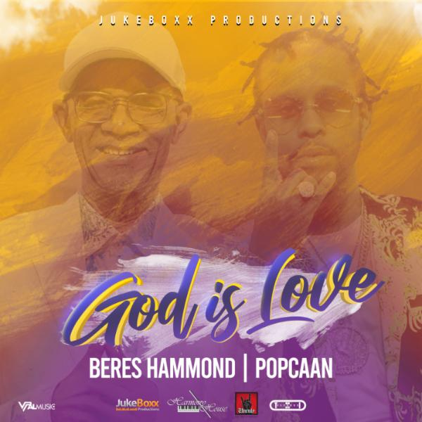 Art for God is Love by Beres Hammond & Popcaan