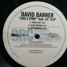 Art for Like A Pimp feat. Lil' Flip by David Banner