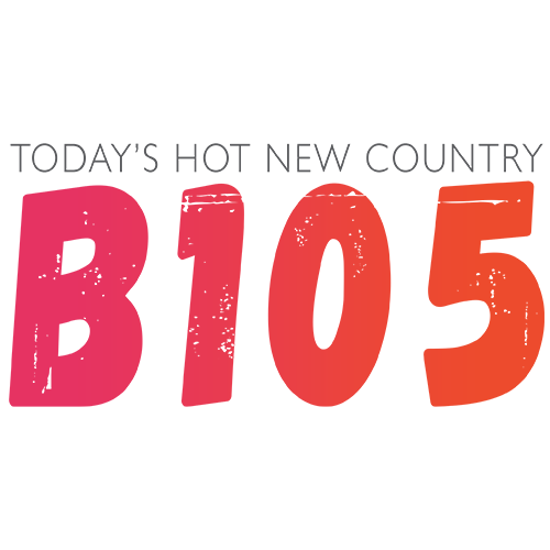 Today's Hot New Country B105 logo