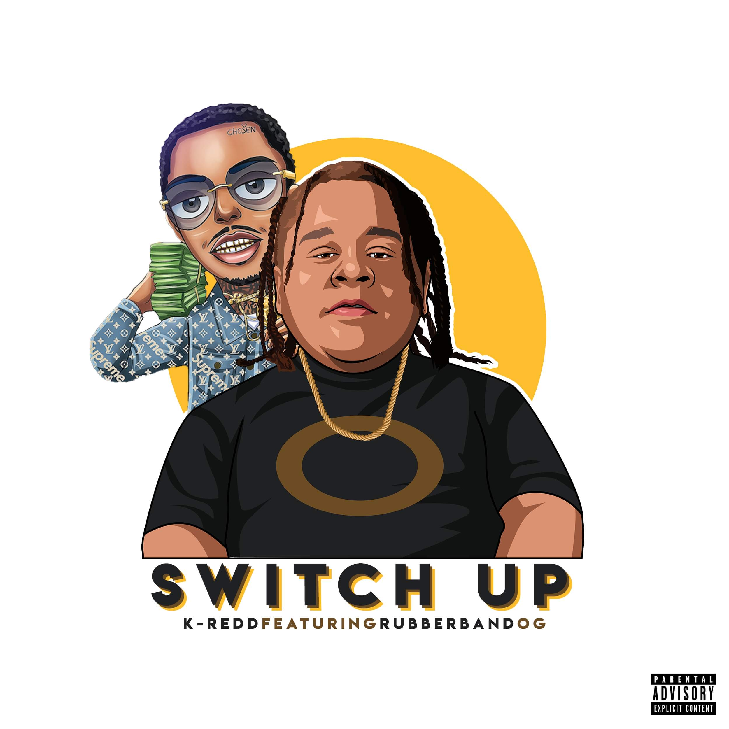 Art for Switch Up by K-Redd