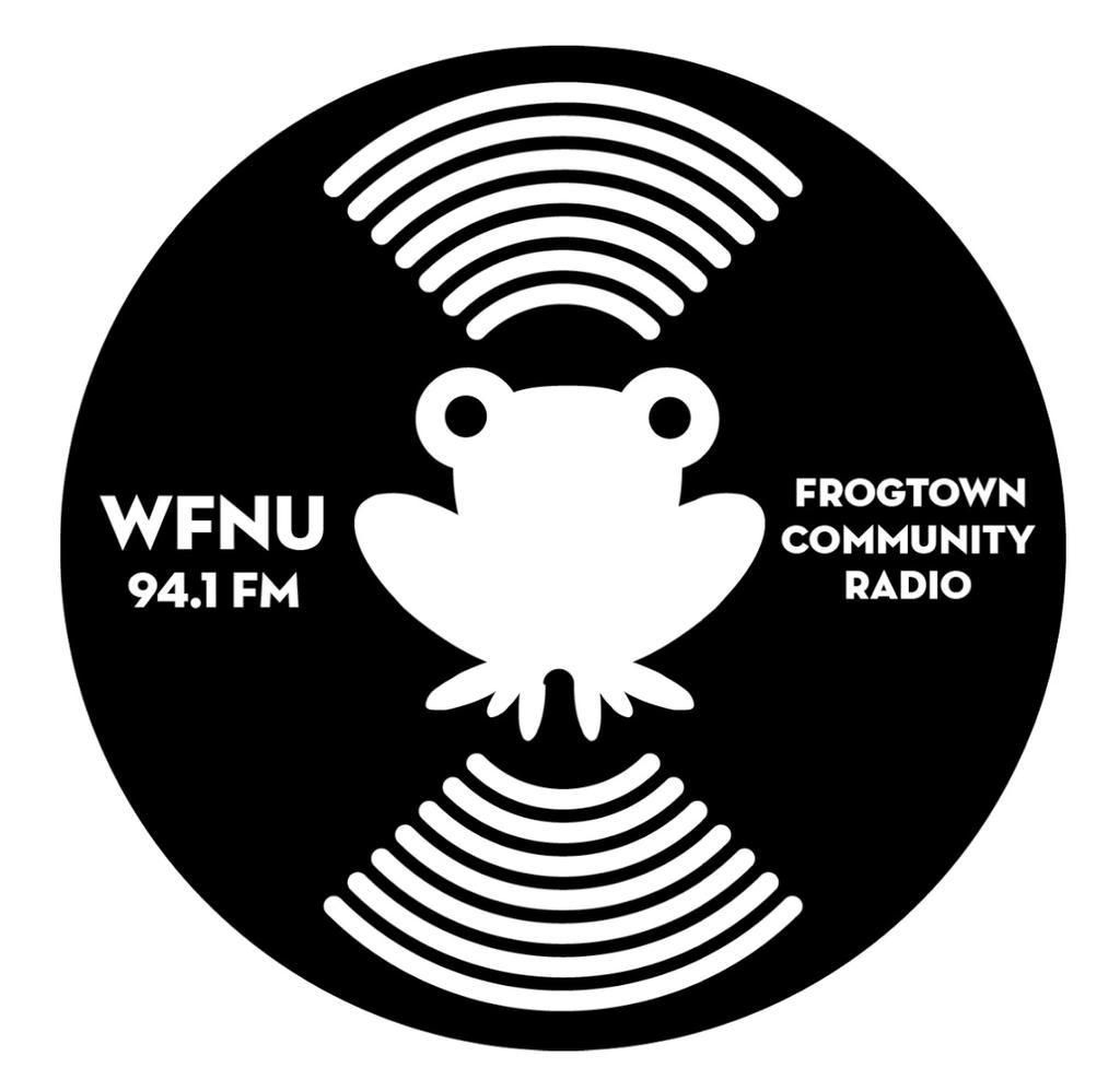 WFNU-LP 94.1FM Frogtown Radio logo