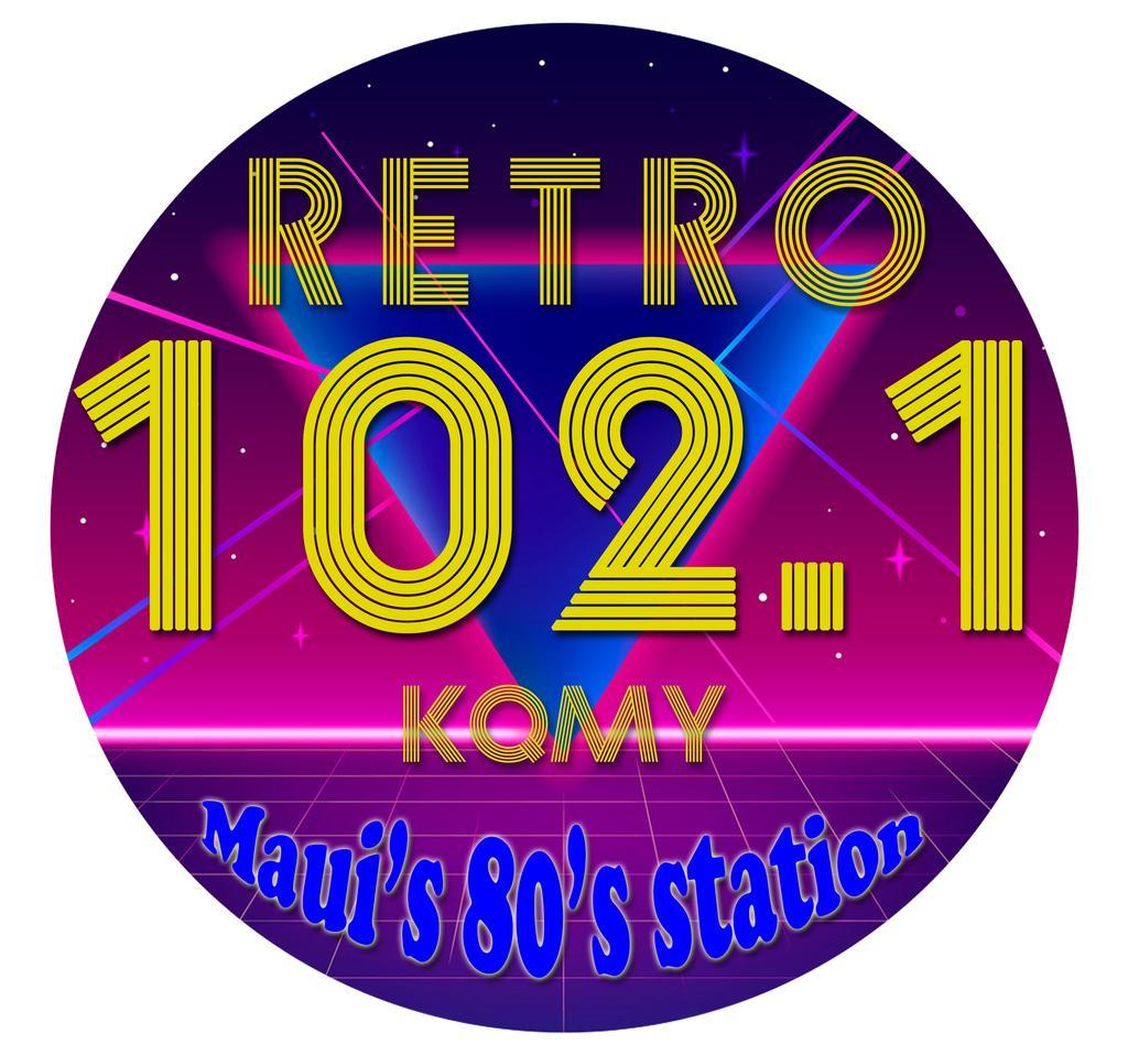 Retro 102.1 (Maui) logo