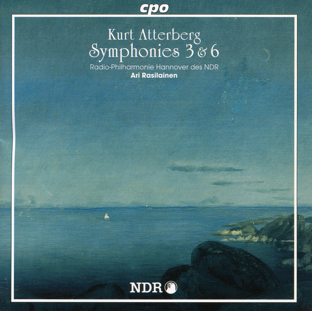 """Art for Symphony No. 3 in D Major, Op. 10, """"West Coast Pictures"""": I. Soldis (Sun Smoke) by Kurt Atterberg, Hannover Radio Philharmonic Orchestra, Ari Rasilainen"""