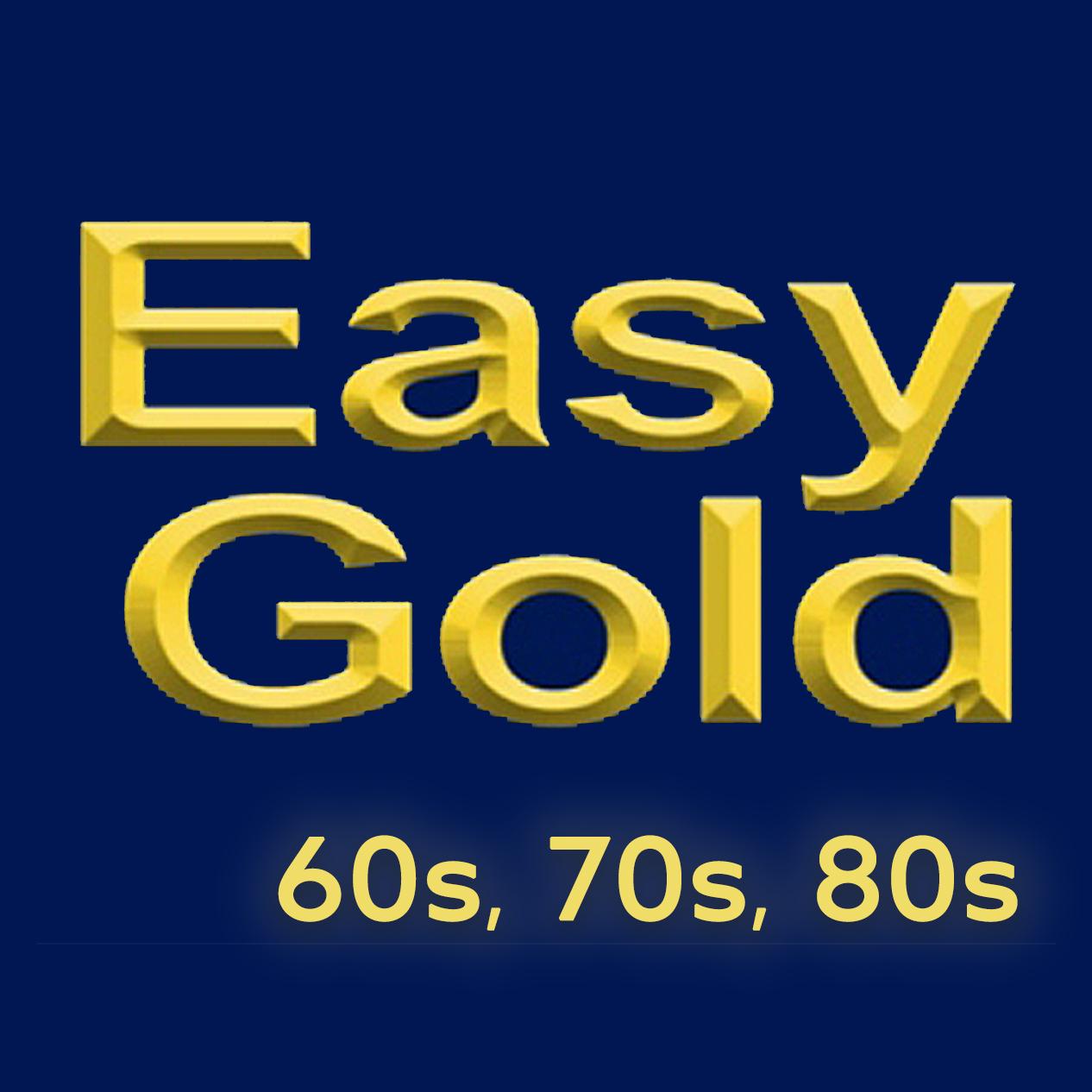 60s 70s 80s Easy Gold logo