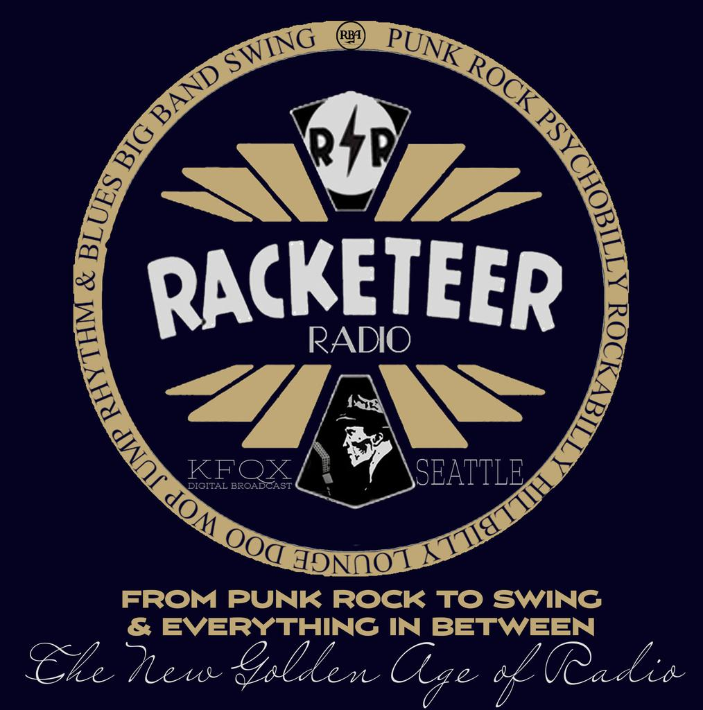 Racketeer Radio KFQX logo