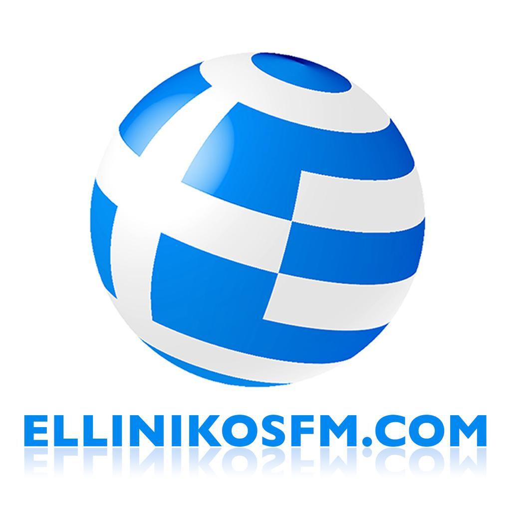 Ellinikosfm Greek Radio logo