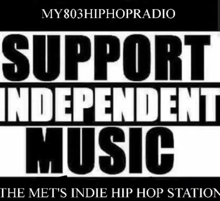 MY803HIPHOPRADIO logo