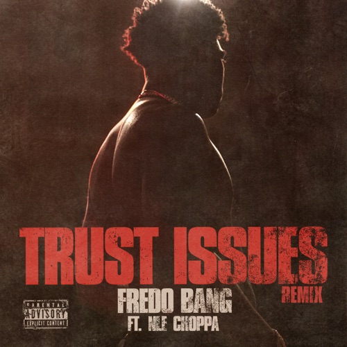Art for Trust Issues Remix feat. NLE Choppa (Explicit) by Fredo Bang
