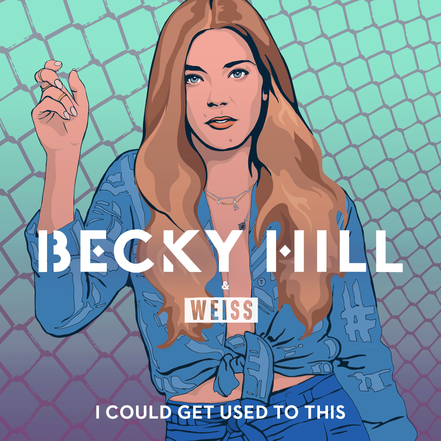 Art for I Could Get Used To This by Becky Hill & Weiss