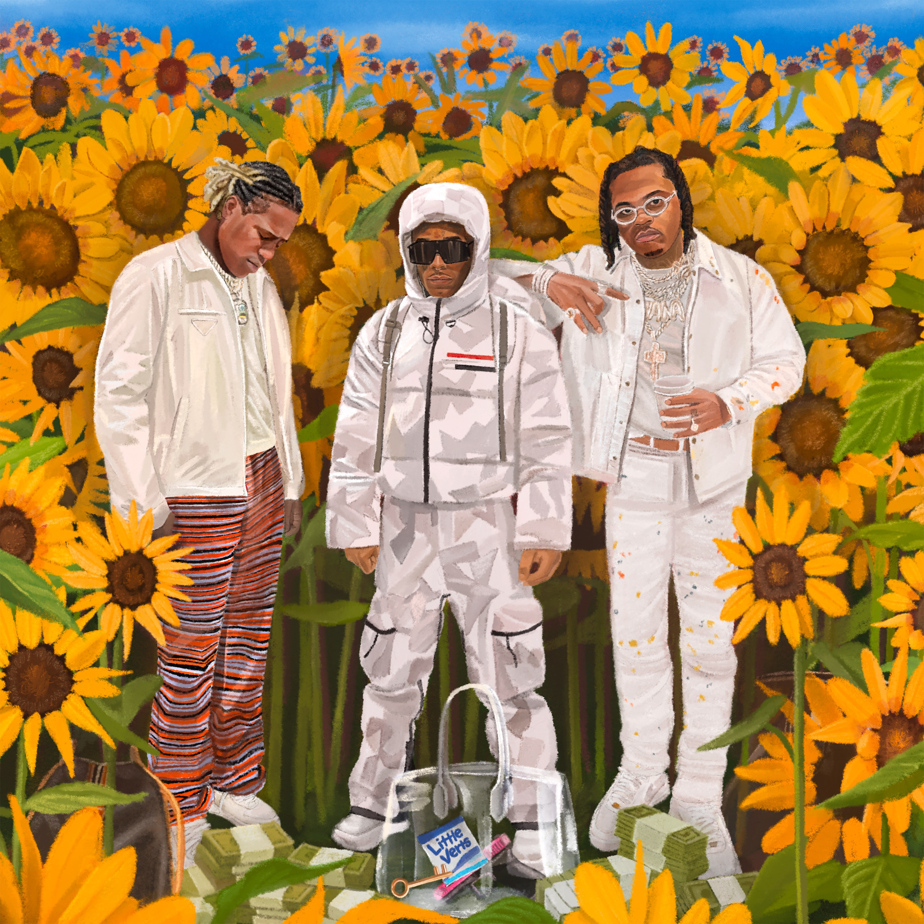 Art for His & Hers (Clean) by Internet Money ft Don Toliver, Lil Uzi Vert & Gunna