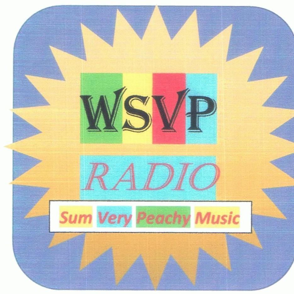 SVP Radio (Sum Very Peachy Music) logo