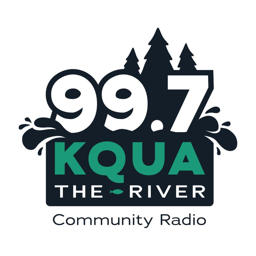 99.7 KQUA The River logo