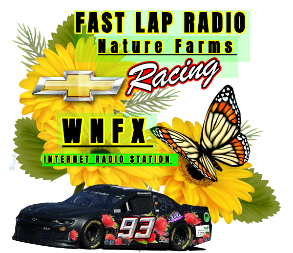 FAST LAP, with NATURE FARMS RACING  logo