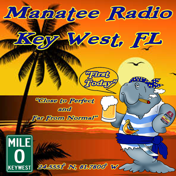 Manatee Radio - Key West, Florida logo