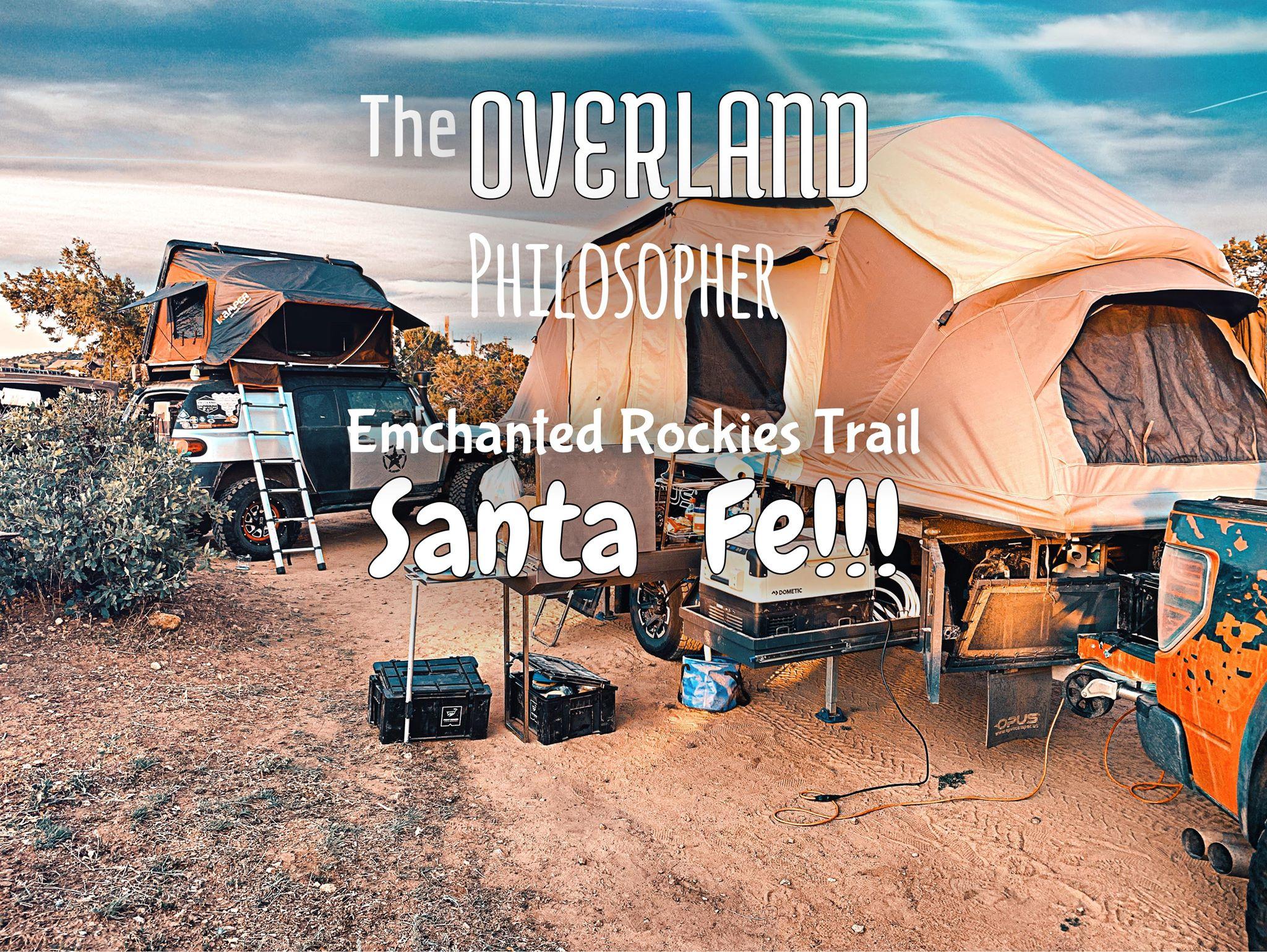 Art for Santa Fe by The Overland Philosopher