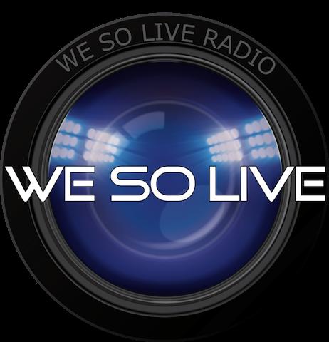 WE SO LIVE RADIO logo