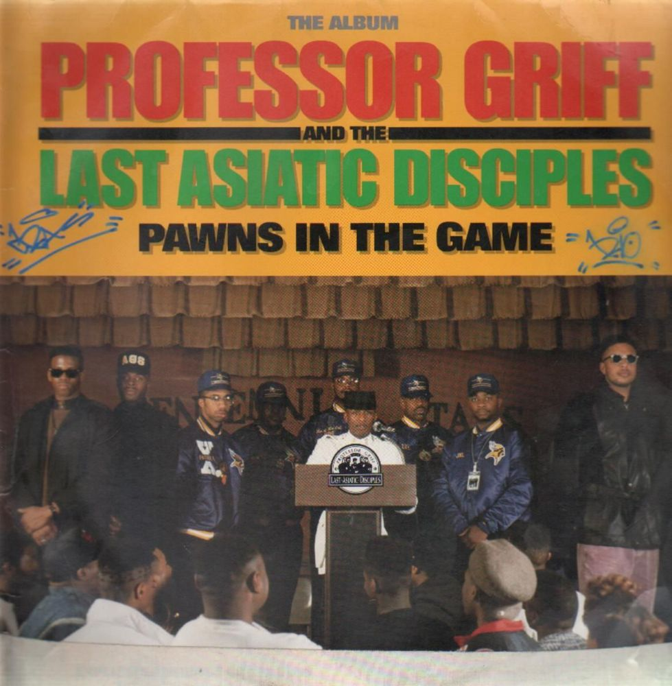 Art for Rap Pt.1 by Professor Griff And The Last Asiatic Disciples