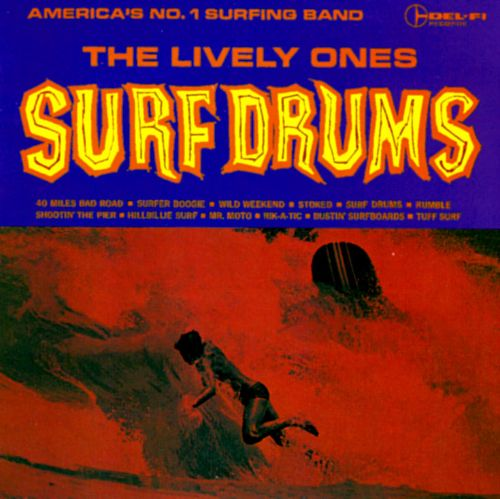 Art for Tuff Surf aka Hard Times by The Lively Ones
