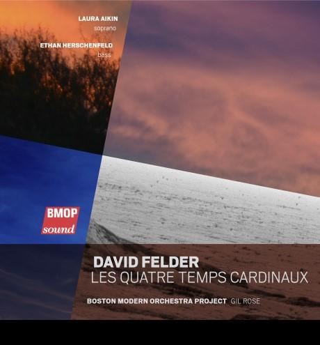 Art for Les QuatresTemps Cardinaux Stanza 2a Fragments 2b by David Felder by Laura Aikin, soprano ; Ethan Herschenfeld, bass