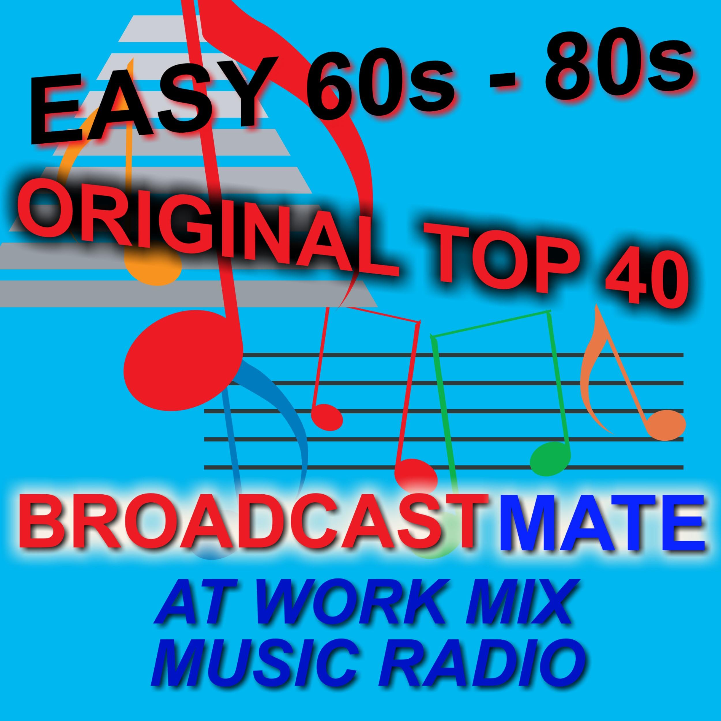 BROADCASTMATE MUSIC RADIO 60S TO 80S POP logo