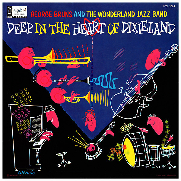 Art for That Happy Rag by George Bruns & The Wonderland Jazz Band