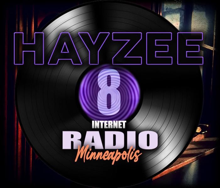 HAYZEE 8 RADIO Minneapolis logo