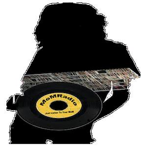 DJ MoMRadio logo