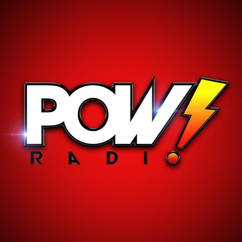 POW! Radio logo