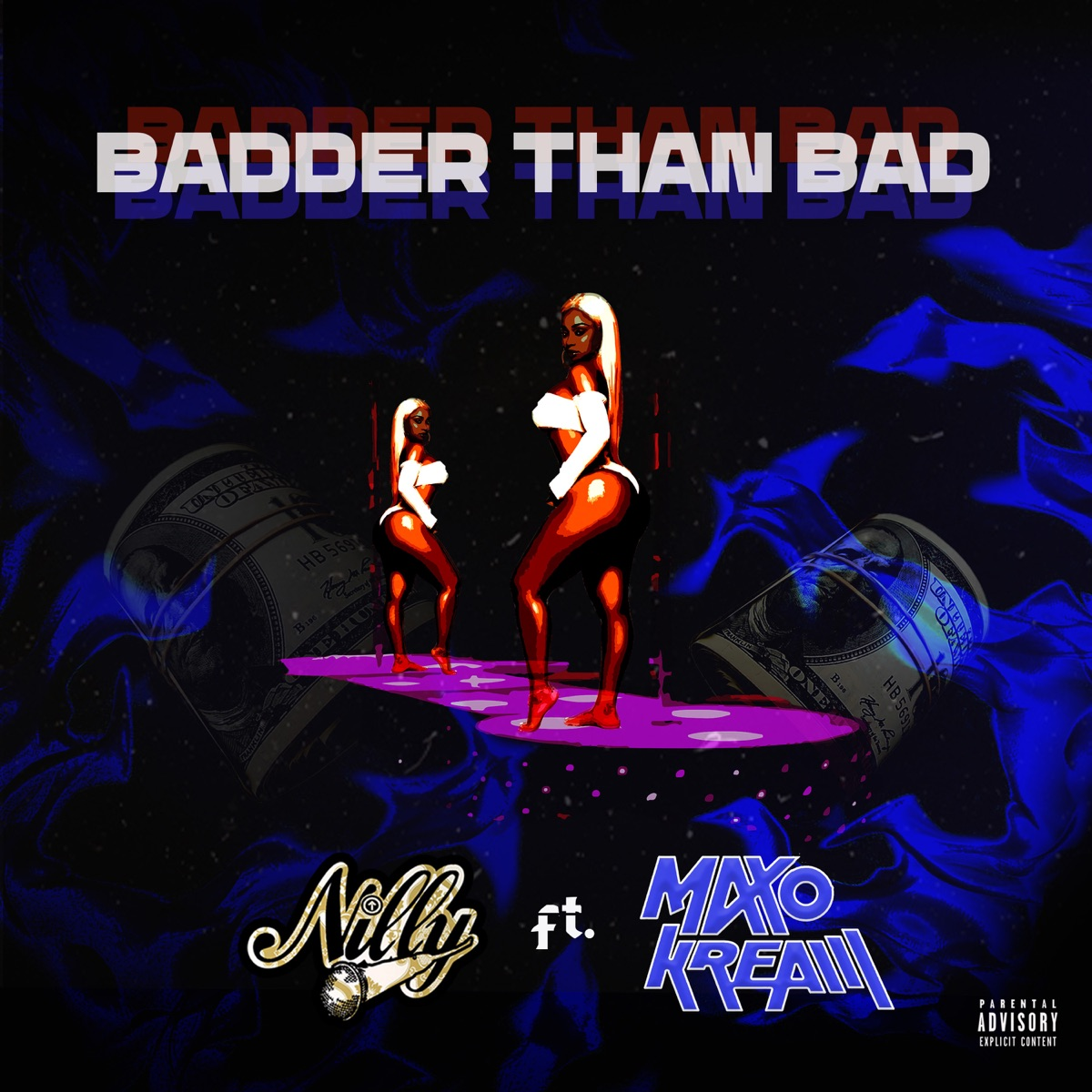 Art for Badder Than Bad (feat. Maxo Kream) by Nilly