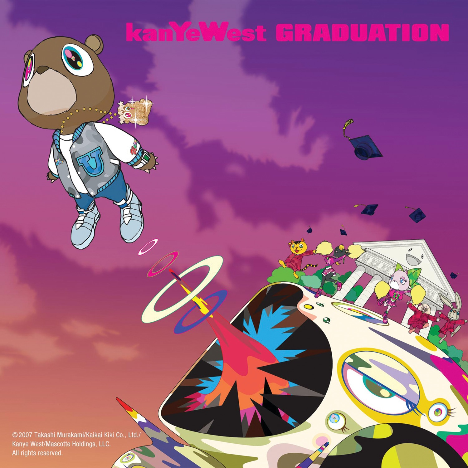 Art for Flashing Lights by Kanye West