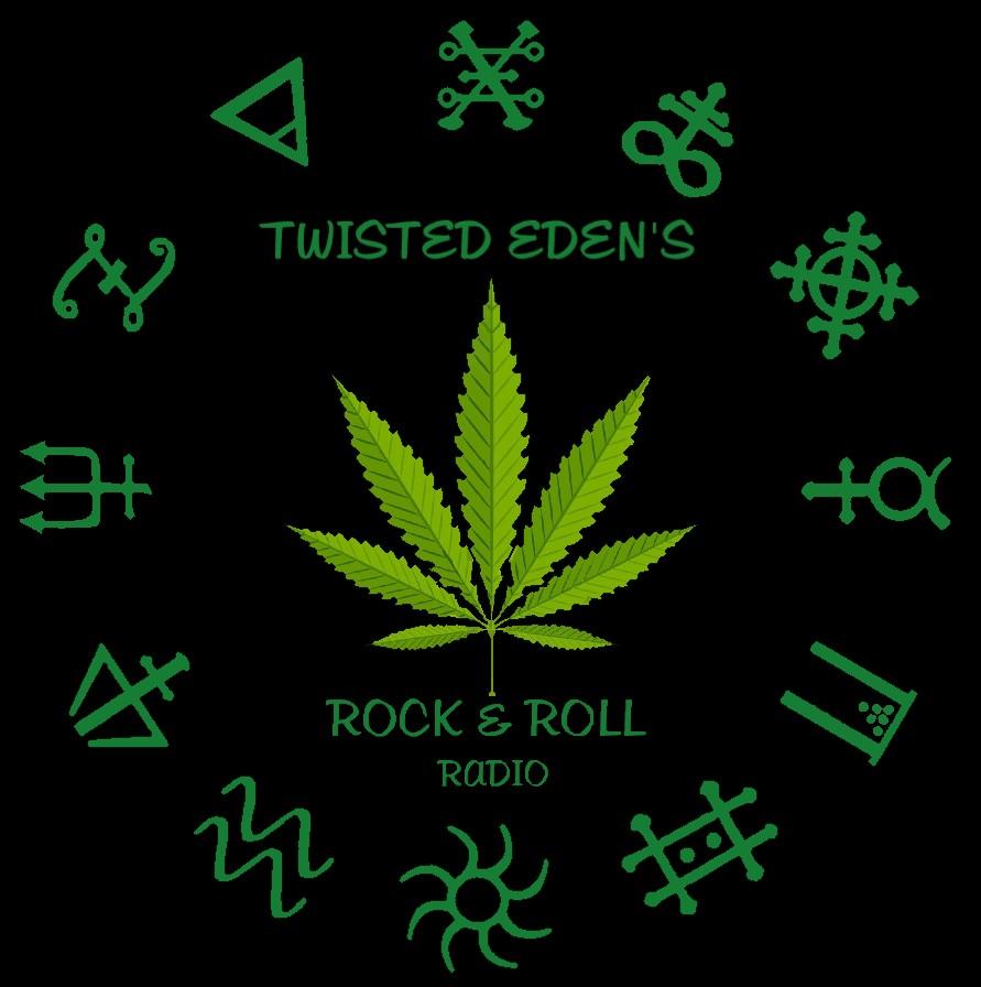 TWISTED EDEN'S ROCK & ROLL RADIO logo