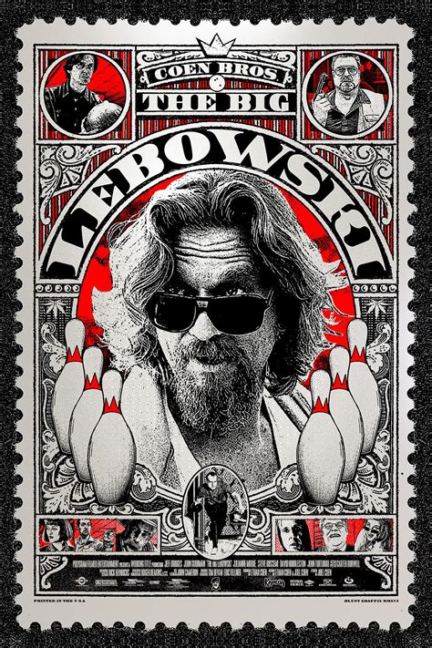 Art for The Big Lebowski Trailer  by Are You Employed Mr. Lebowski