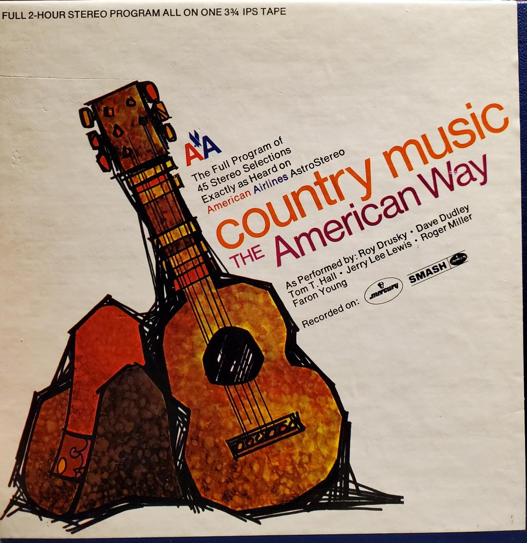 Art for Release Me by Jerry Lee Lewis // American Airlines Country Program Vol 167 (Single)