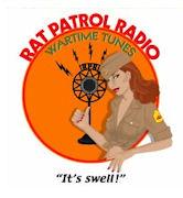 Rat Patrol Radio - Wartime Tunes! logo