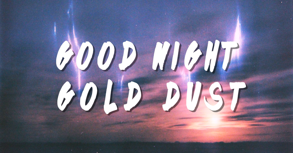 Art for Four Letter by Good Night Gold Dust