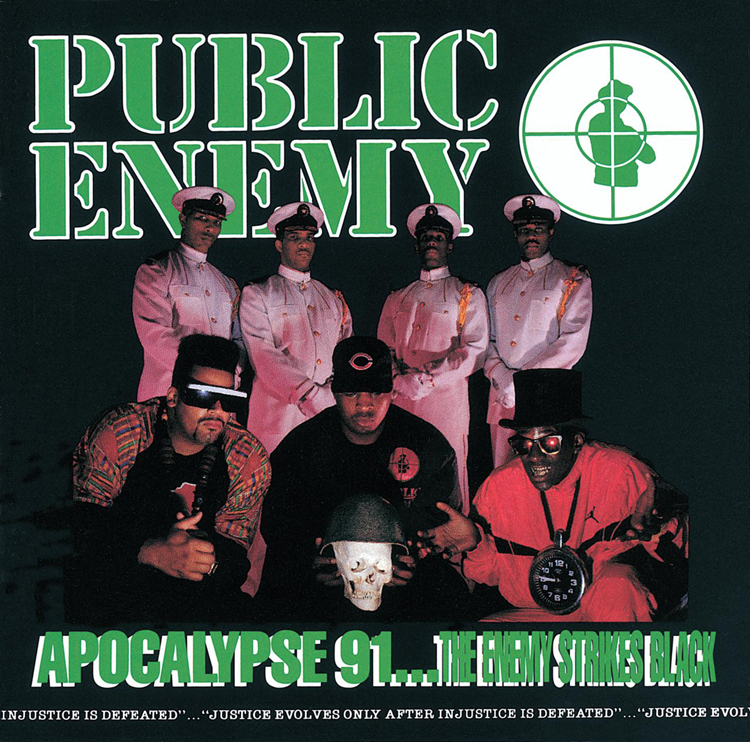 Art for Lost At Birth by Public Enemy (Apocalypse '91)