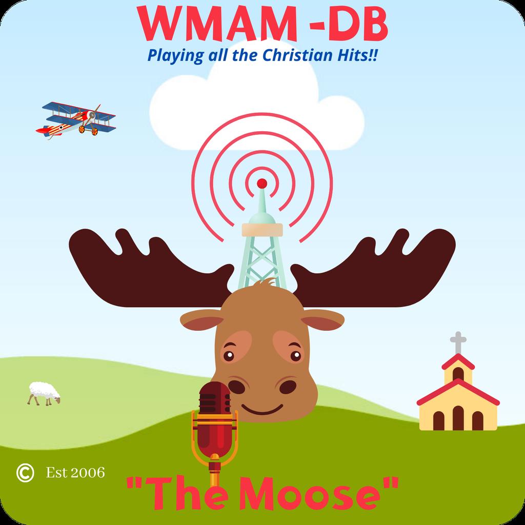 "WMAM-DB  ""The Moose""  logo"