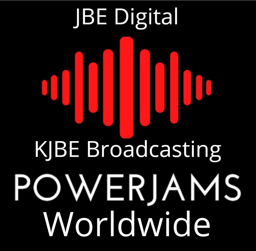 PowerJams (KJBE-DB Worldwide) logo