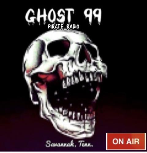 WWWW-DB Ghost 99 Pirate Radio  logo