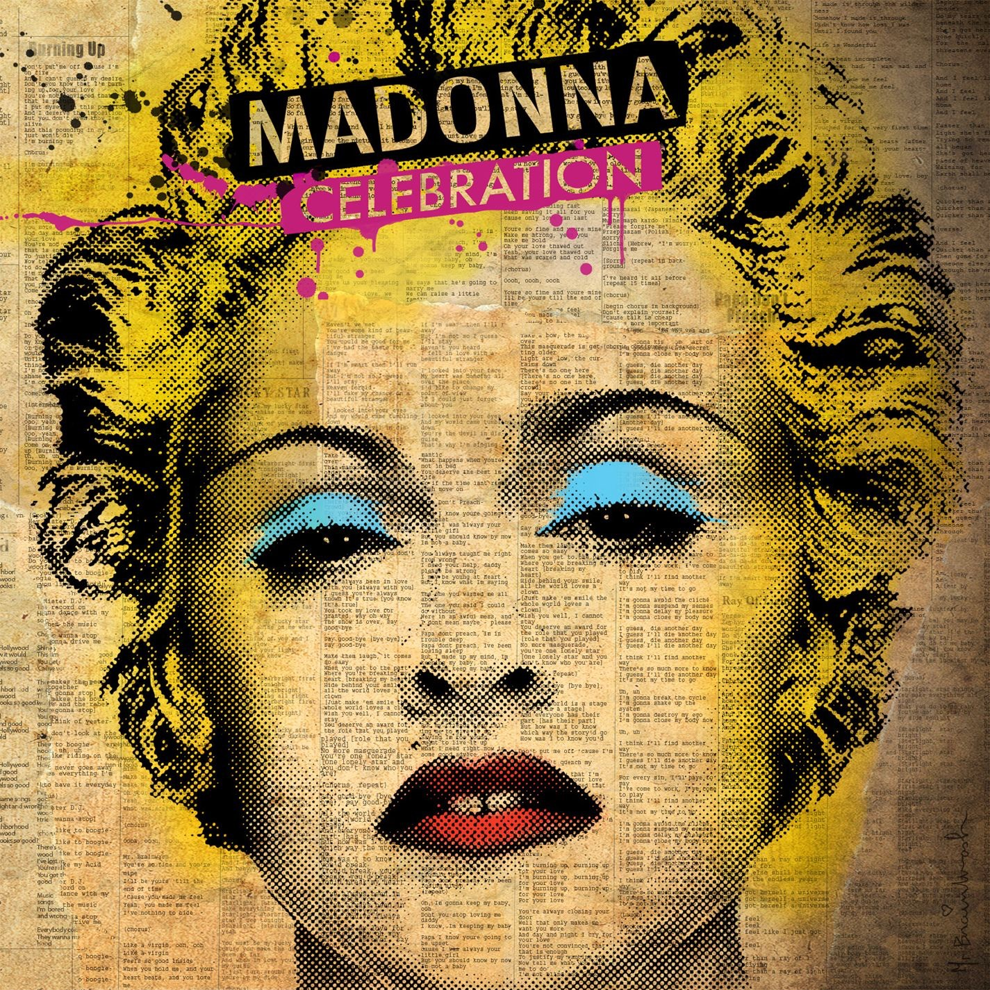 Art for Holiday by Madonna
