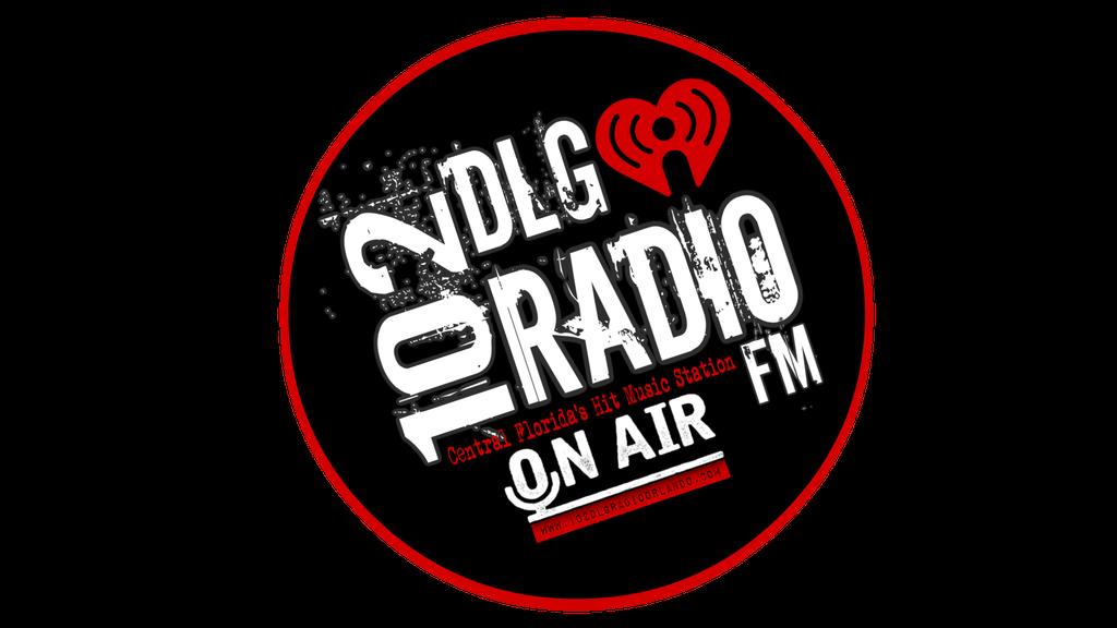 102DLG Radio FM logo