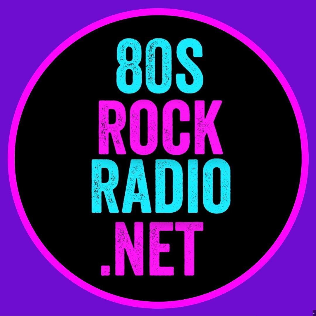 80s Rock Radio logo