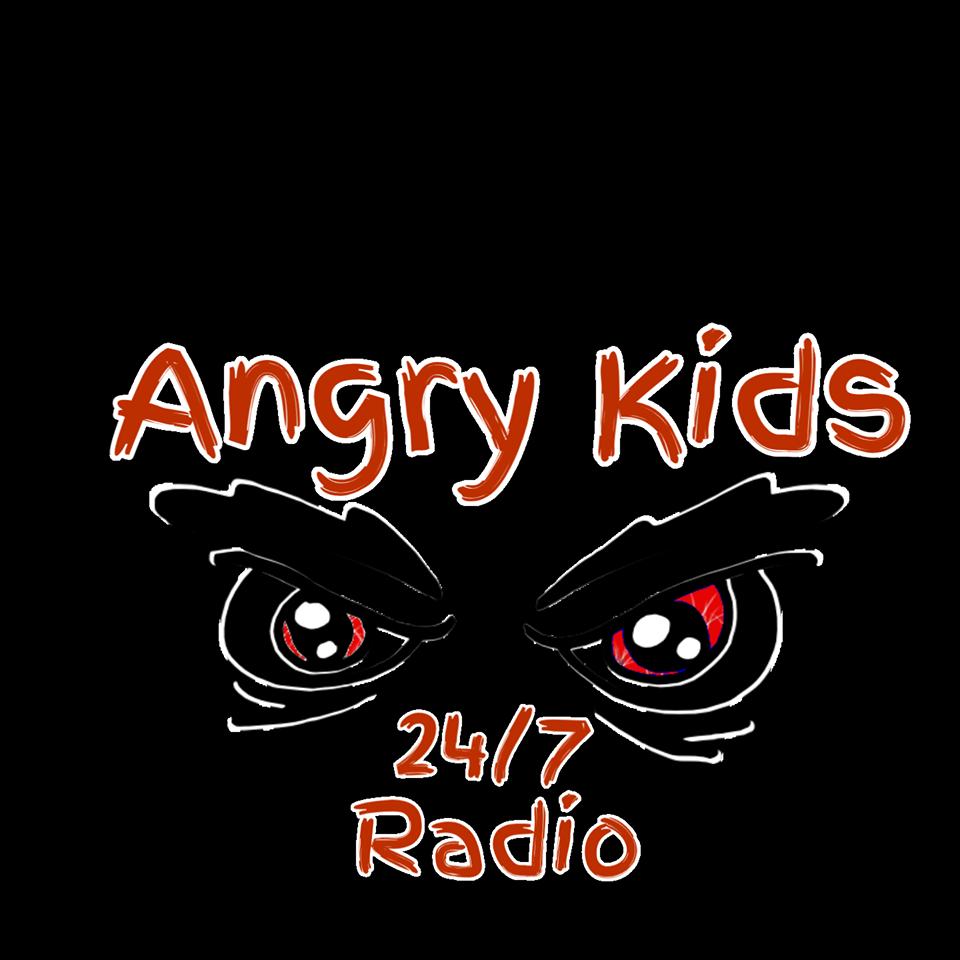 Angry Kids 24-7 Radio logo