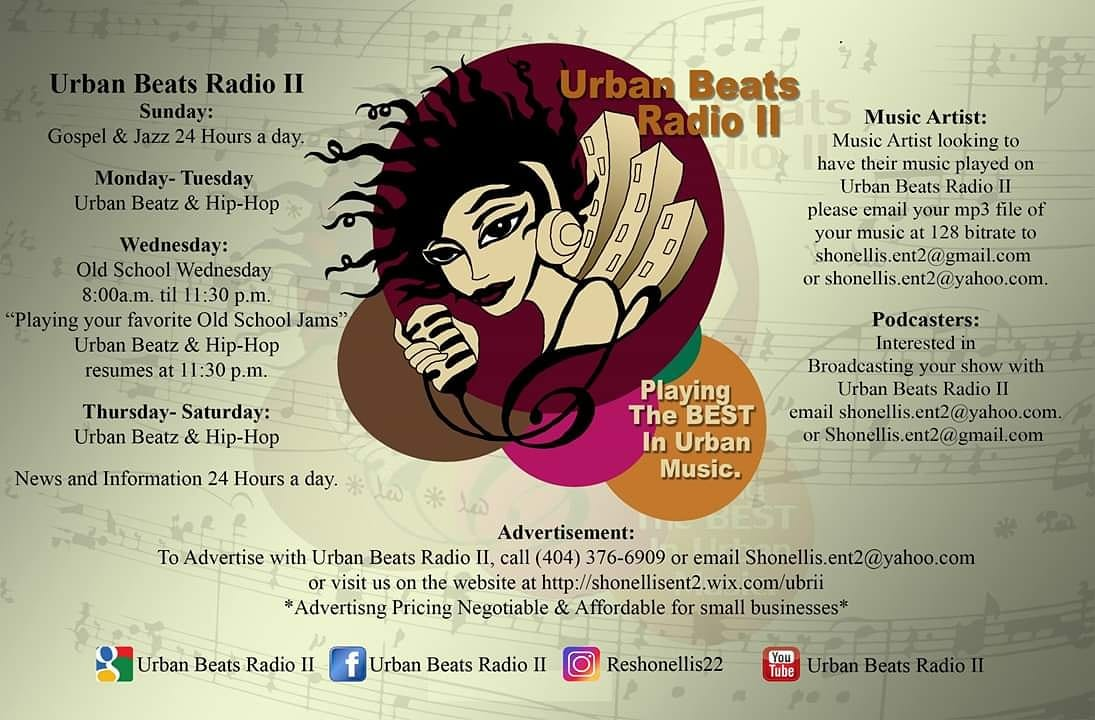 Art for Urban Beats Radio II by Playing The Best In Urban Music
